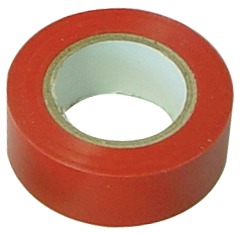 10 x Isolierband, rot, 10,0m